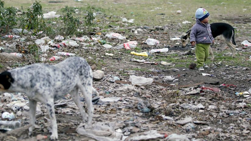 Casi la mitad de los niños argentinos son pobres
