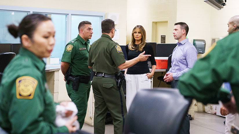 FOTOS: Melania Trump visita por segunda vez la frontera con México