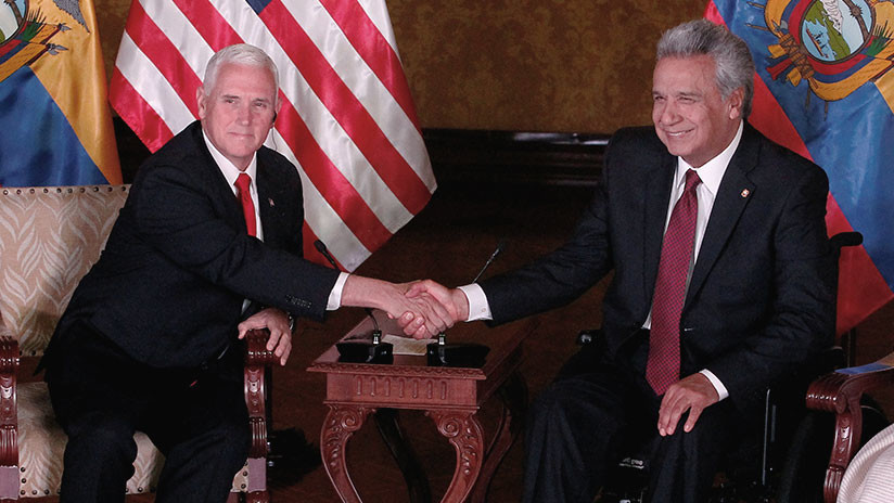 """Pence insta """"respetuosamente"""" a países de América Latina a aislar a Venezuela"""