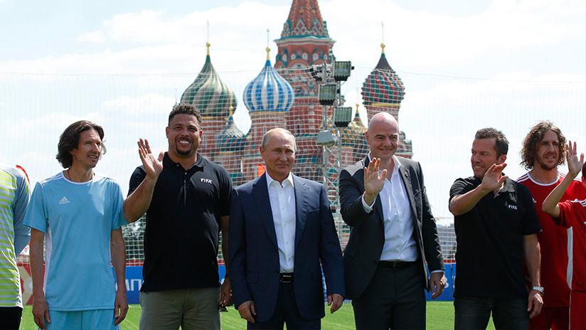 """Infantino: """"El Mundial está cambiando la percepción sobre Rusia, especialmente en Occidente"""""""