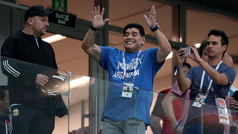 ¿Por qué Maradona recibe 13.000 dólares de la FIFA por cada aparición en el Mundial de Rusia 2018?