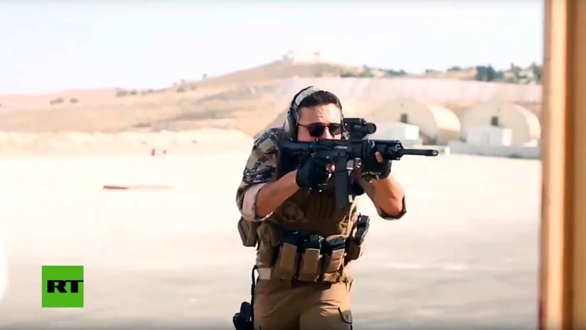 'A lo Rambo': El rey de Jordania y su heredero realizan prácticas militares con fuego real (VIDEO)