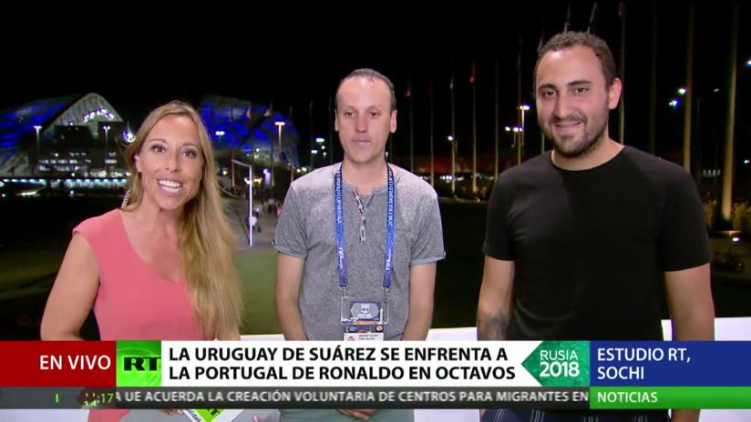 Una Uruguay imbatida se enfrenta a Portugal en octavos de final del Mundial de Rusia