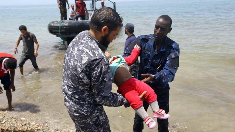 Esto ocurría en el Mediterráneo mientras la UE discutía qué hacer con los refugiados (18+)