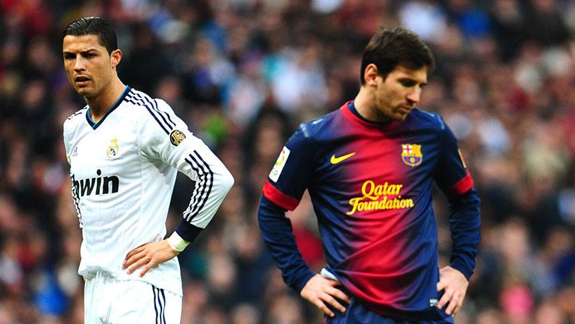 Duelo de grafitis: Messi aparece junto a Ronaldo en Kazán (y el portugués le lanza un desafío)