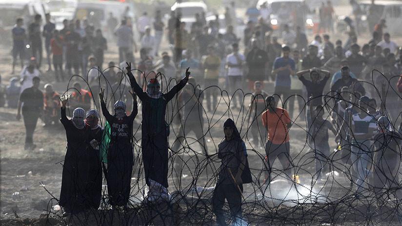 Palestinos claman