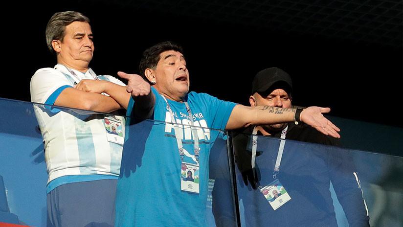 ¿Le ha sacado la FIFA 'tarjeta roja' a Maradona?