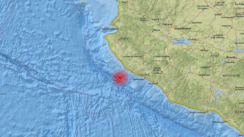 Un sismo de magnitud 5,9 sacude la costa del estado mexicano de Jalisco