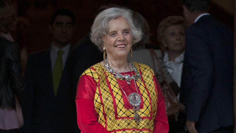 La escritora Elena Poniatowska lega su archivo histórico a los mexicanos