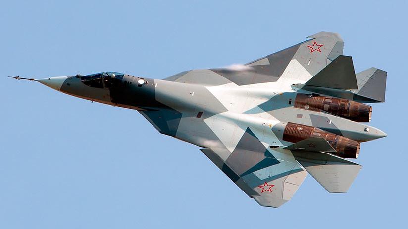 El Ejército ruso dispondrá pronto de los primeros cazas Sukhoi Su-57