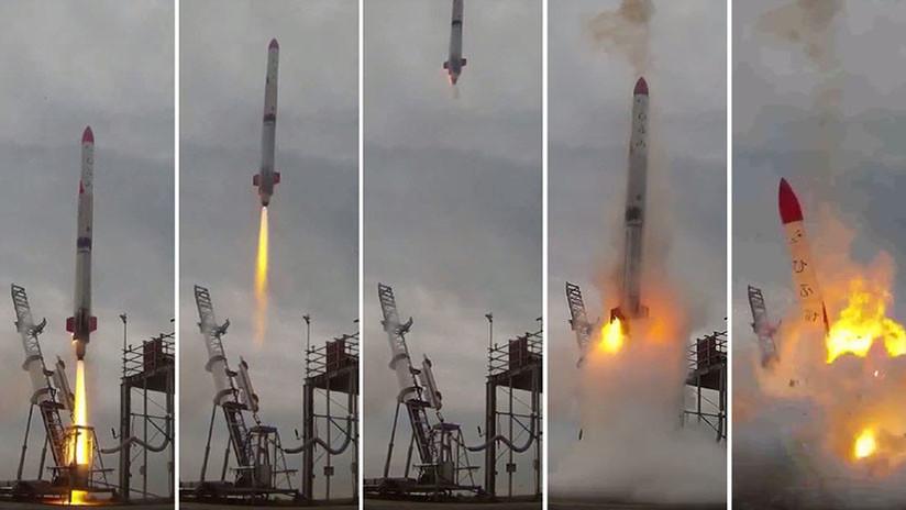 Un cohete japonés se estrelló segundos después de su lanzamiento