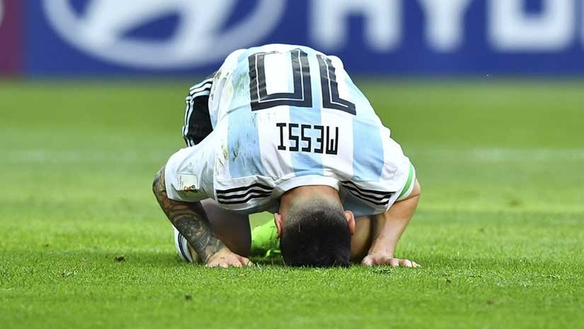 MEMES: Messi envejecido, el 'mar de Lágrimas' y una nueva bandera tras caer Argentina ante Francia