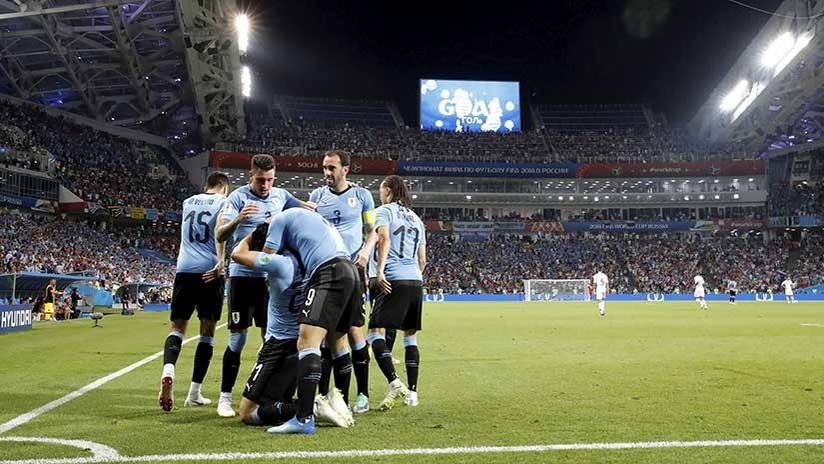 Uruguay vs. Portugal: 'charrúas' repitieron gol realizado en el Mundial 2014