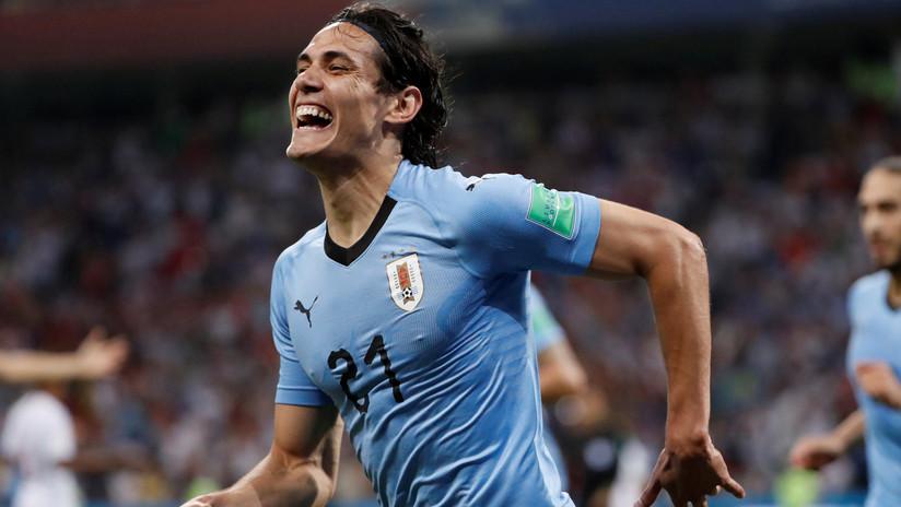 Uruguay se impone a Portugal con un doblete de Cavani y se medirá a Francia en cuartos