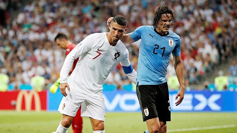 ¿Espíritu deportivo o estrategia? El gesto de Ronaldo con el lesionado Cavani divide a la Red