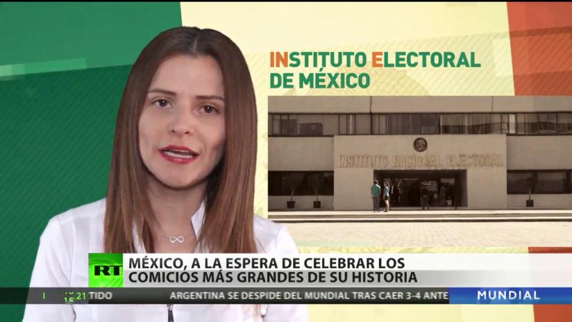 México, a la espera de celebrar los mayores comicios de  su historia