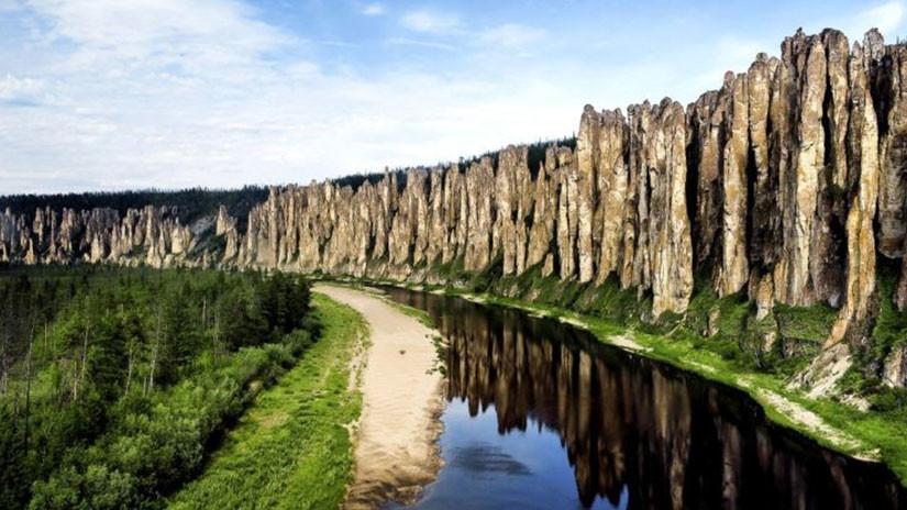 Pilares del Lena, República de Sajá, Rusia