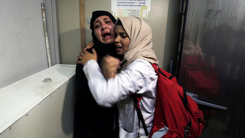 Muere un menor palestino por fuego israelí en las protestas en Gaza