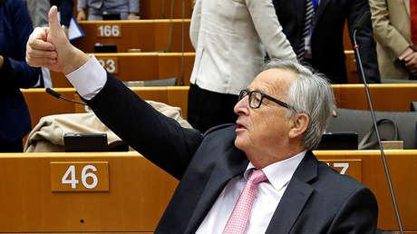 El presidente de la Comisión Europea Jean-Claude Juncker