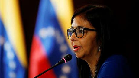 Delcy Rodríguez, Presidenta de la Asamblea Nacional Constituyente (ANC).