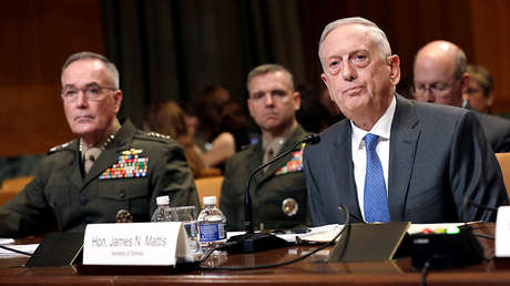 El secretario de Defensa de EE.UU., James Mattis, en Washington, el 9 de mayo de 2018.