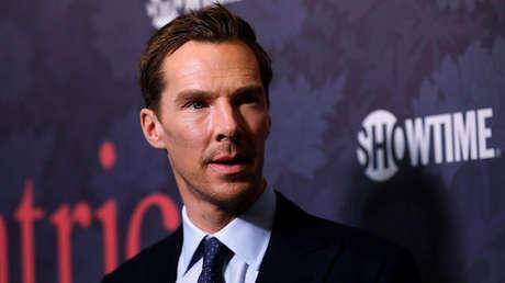El actor británico Benedict Cumberbatch durante un acto en Los Ángeles, California (EE.UU.), el 25 de abril de 2018.