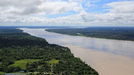 El río Amazonas.