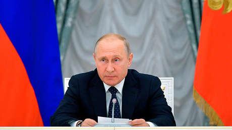 El presidente ruso Vladímir Putin