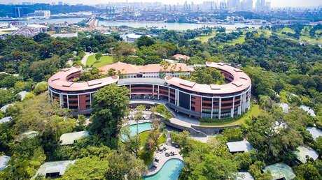 El hotel Capella de la isla de Sentosa, Singapur.