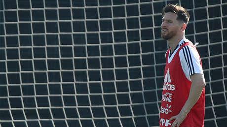 Lionel Messi, futbolista argentino.