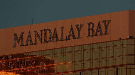 El hotel Mandalay Bay de Las Vegas (Nevada), lugar donde Stephen Paddock cometió la masacre.