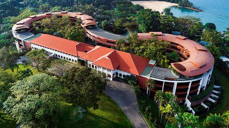 Hotel Capella en Singapur.