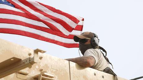 Un miembro de las fuerzas de EE.UU. en la localidad siria de Darbasiya, el 28 de abril de 2017.