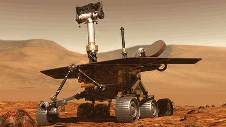 El vehículo robótico de la NASA Opportunity.