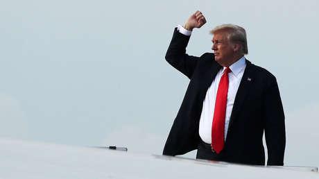 El presidente de EE. UU., Donald Trump.
