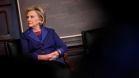 La exsecretaria de Estado Hillary Clinton.