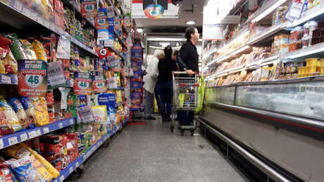 Un supermercado de Buenos Aires, Argentina.