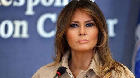La primera dama de EE.UU., Melania Trump.