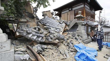 Secuelas del terremoto en la prefectura japonesa de Osaka, 18 de junio de 2018.