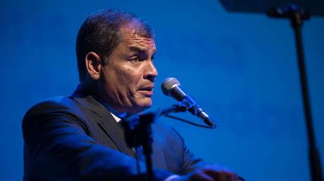 Expresidente de Ecuador Rafael Correa.