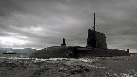 Tercer submarino nuclear británico clase Astute, el cual está valorado en mil millones de libras esterlinas.