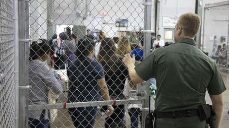 Imagen difundida por la Oficina de Aduanas y Protección Fronteriza de EE.UU., 18 de junio del 2018.