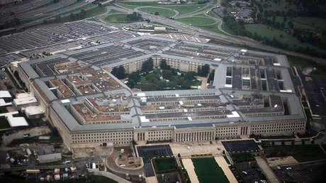 Vista aérea del Pentágono, el 28 de septiembre de 2008.