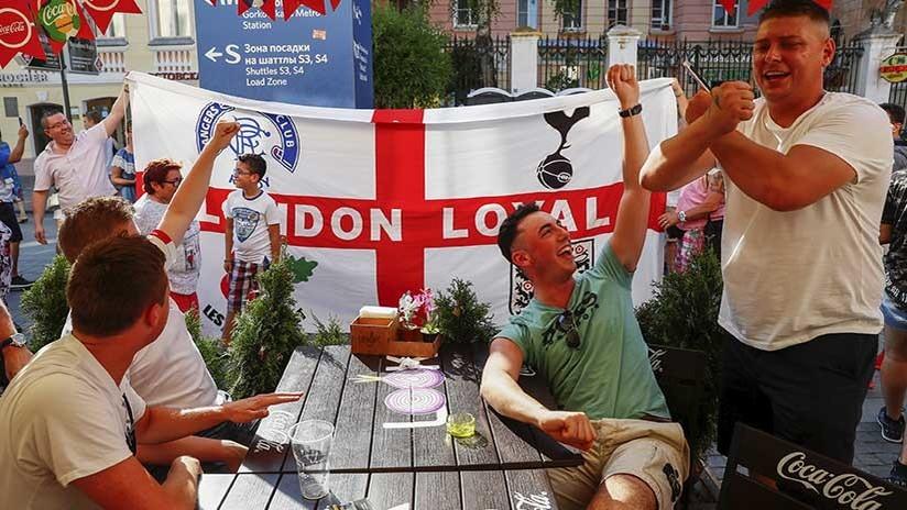 """""""No me comió un oso"""": Hincha británico elogia el Mundial de Rusia y critica a los medios de su país"""