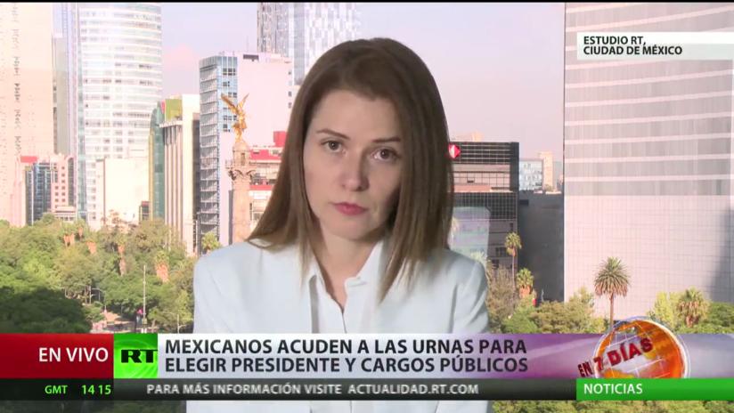 Los mexicanos acuden a las urnas para elegir presidente y cargos públicos