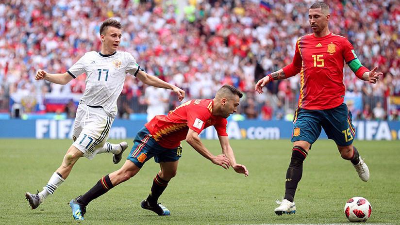 España y Rusia, abocadas a la prórroga tras empatar a un gol