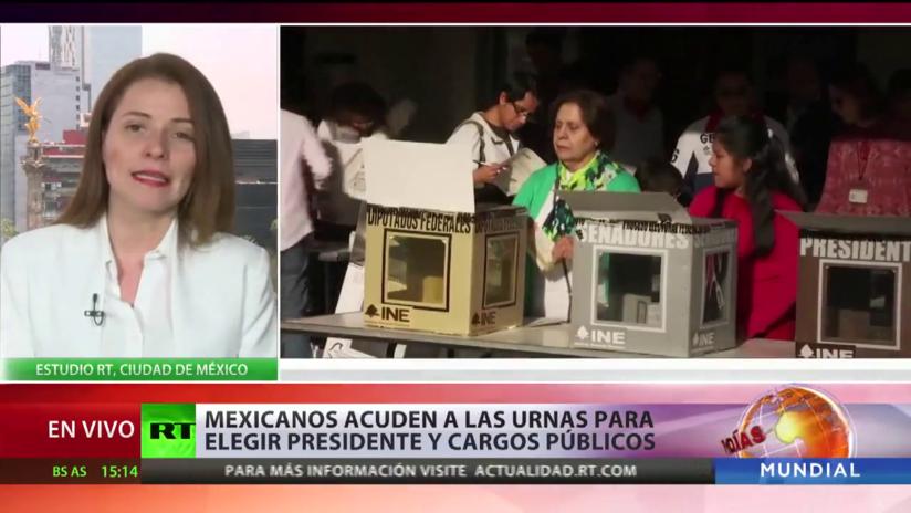 Mexicanos ejercen derecho al voto con la esperanza de cambiar el país