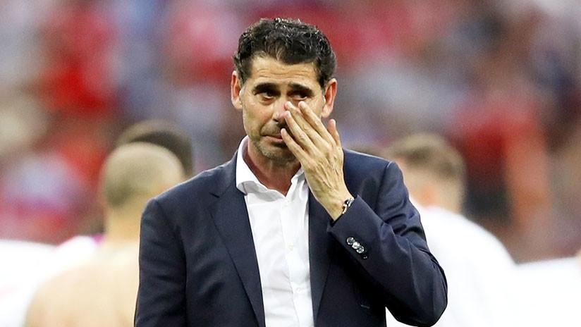 """Hierro tras la eliminación de España: """"Si alguien busca responsabilidades, me pongo a la cabeza"""""""