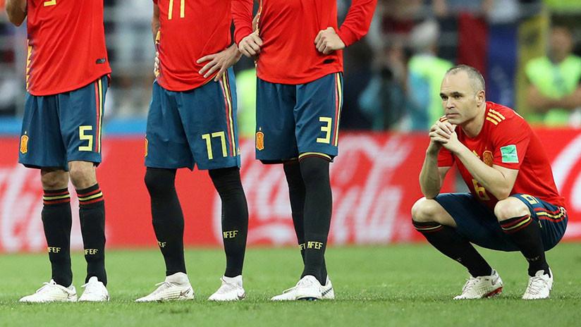 Iniesta anuncia que deja la selección de España, tras eliminación en el Mundial Rusia 2018