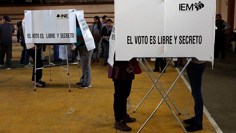 Cierran casillas y empieza conteo de votos en México